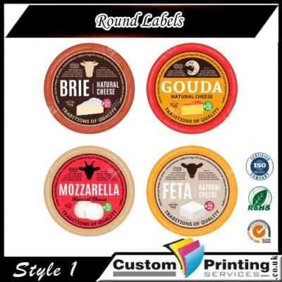 Round Labels Printing