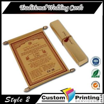 Traditional Wedding Cards