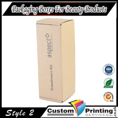 Packaging Box For Beauty Product Printing