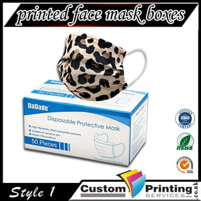 Printed Face Mask Boxes