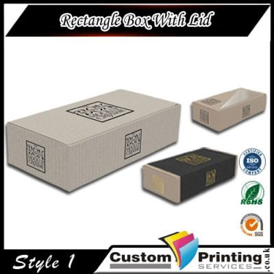 Rectangle Box with Lid Packaging